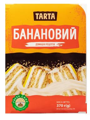 Торт «Банановий» 370 г