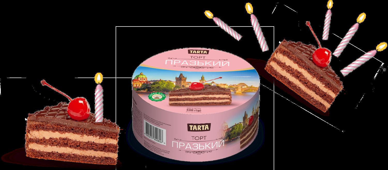 Торт Празький з вишнею